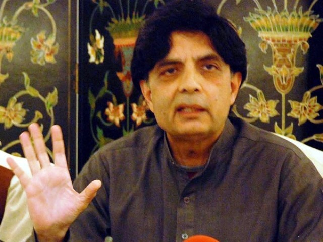 Nisar seeks MQM's support for Karachi operation