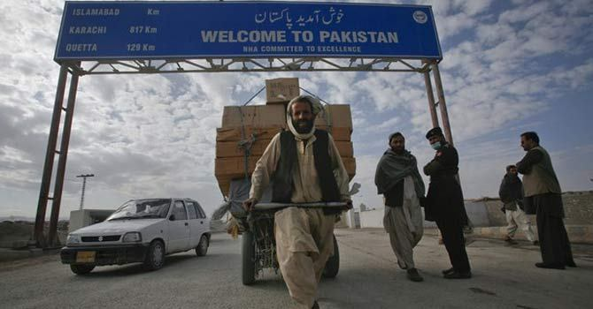 Pakistan signed no trade agreement with Afghanistan in three years