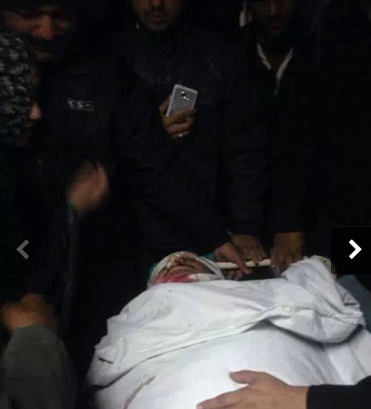 Dead Body of Allama Nasir Abbas