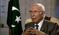 Pakistan wants complete halt to drone strikes: Aziz