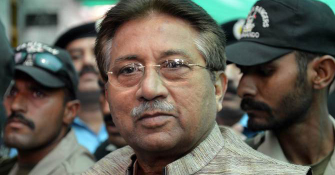 Musharraf granted exemption from appearance in judges' detention case