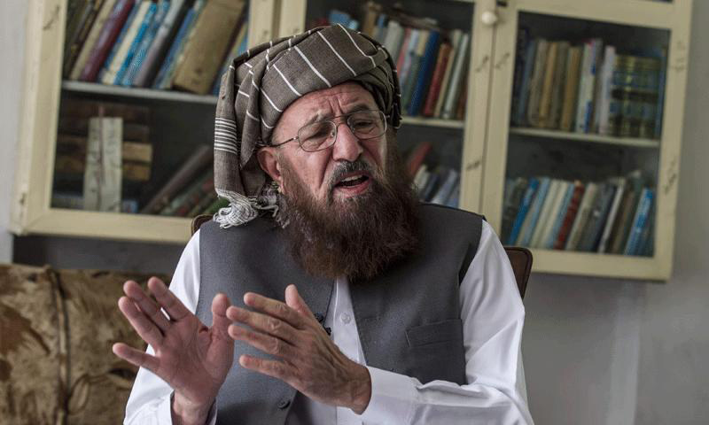 No task of initiating talks with Taliban assigned to Maulana Samiul Haq: government
