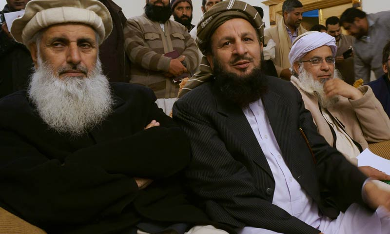 Professor Ibrahim, Maulana Yousuf leave for Waziristan to meet TTP leadership