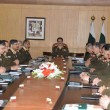 Corps Commanders discuss security issues