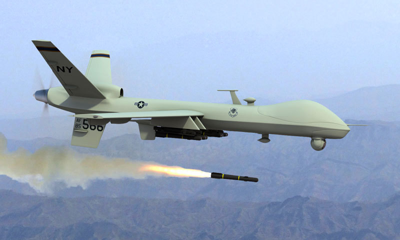 Three militants killed as US drone strike targets Khyber agency