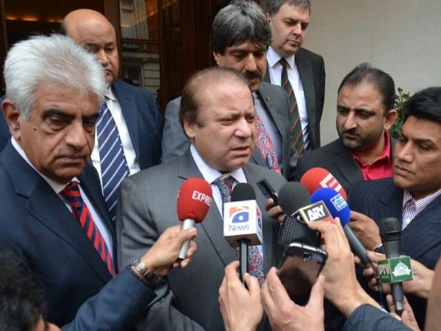 Nawaz urges all institutions to work together to resolve issues