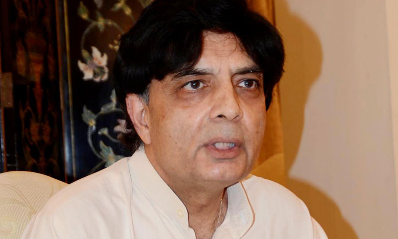 Talks with Taliban still govt's top priority: Nisar
