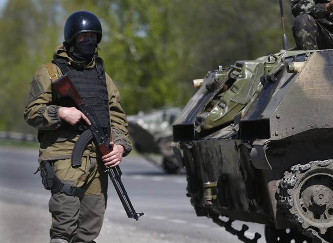 Ukraine launches large-scale operation against pro-Russian protesters in Slavyansk