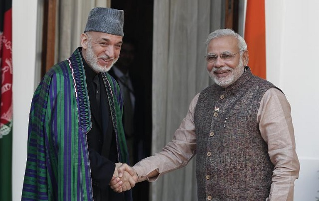Karzai seeks India's help to train, equip security forces in Afghanistan