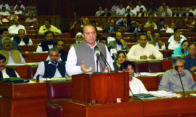 nawaz-sharf-in-national-assembly
