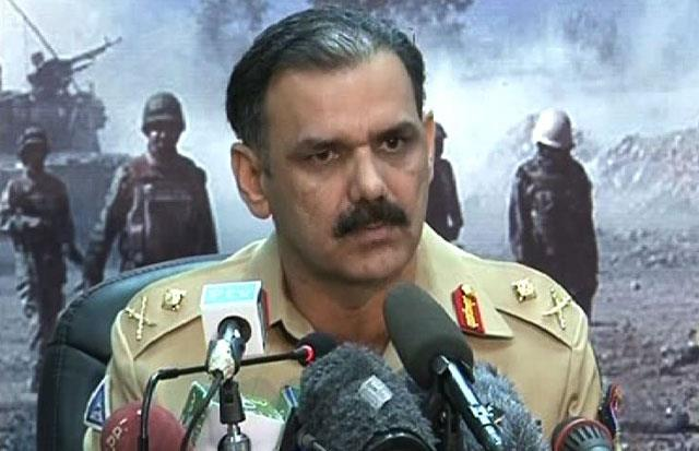 Director General ISPR Major General Asim Saleem Bajwa