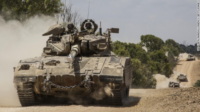 12-hour ceasefire between Israel, Hamas begins in Gaza