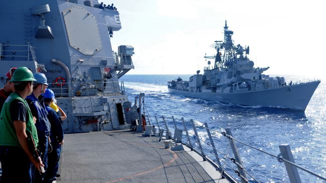 US, India, Japan set to start joint naval exercise in Pacific Ocean