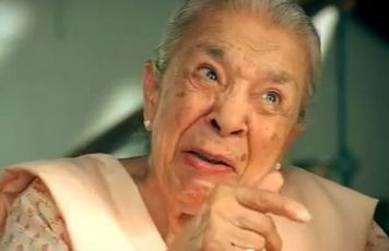 Zohra_Sehgal at the age of 100 year