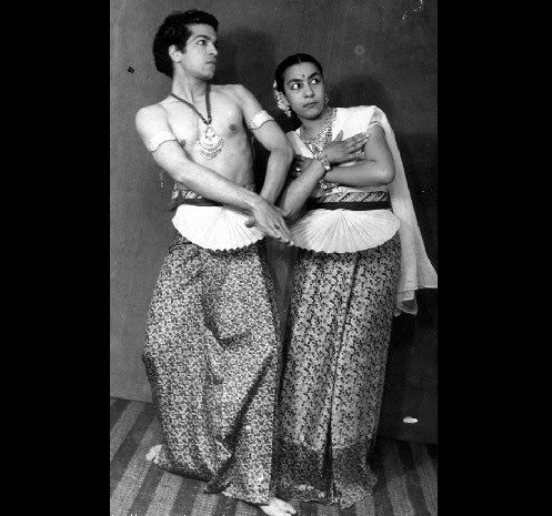 Obituary of Zohra Sehgal. Zohra performing with her husband