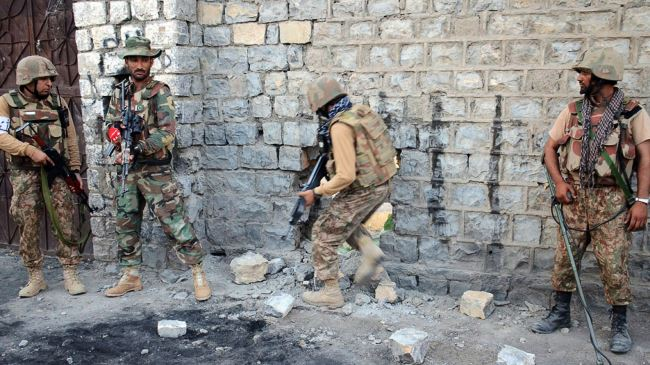 Zarb-e-Azb: seven Uzbek militants, two army personnel killed