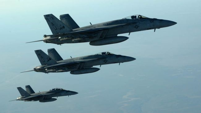 US-led coalition strikes oil refineries in Syria used by IS militants