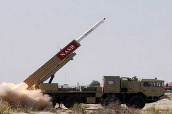Pakistan successfully tested its Short Range Surface to Surface Missile Hatf IX