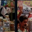 Traders in Kanpur India protested against Chinese President and burnt his effigy