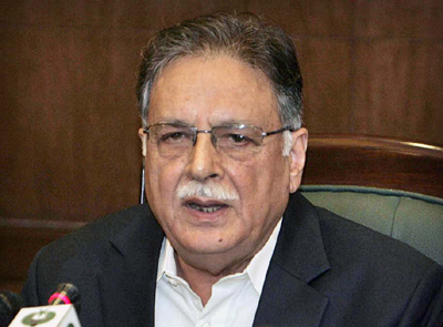 An Interview with Pervaiz Rasheed: We will refrain from using force against people camping outside Parliament