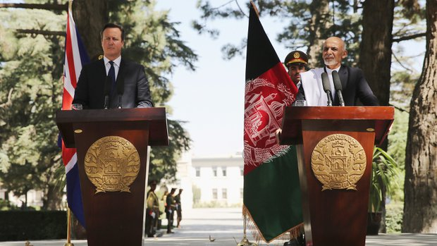 UK pledges to support new Afghan unity govt