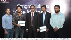 Zong celebrates crossing one million 'Super 3G' customers