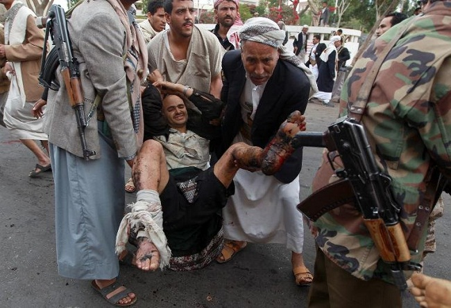 63 killed as suicide bombings rock Yemen