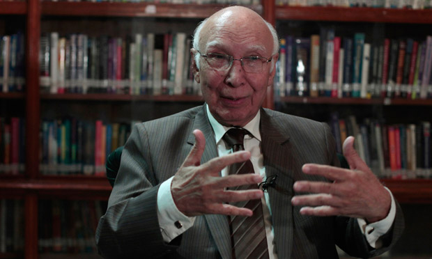 No trust deficit between Pakistan, US: Sartaj Aziz