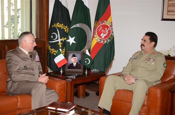 Italy committed to further strengthen its defence ties with Pakistan