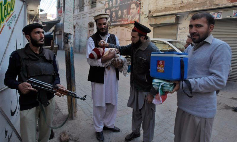 Special anti-polio drive to begin in Peshawar on Sunday