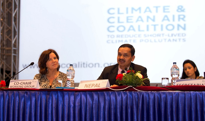 Climate and Clean Air Coalition meets in Kathmandu to tackle air pollution