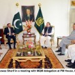 Karachi operation not party-specific, Nawaz tells MQM delegation