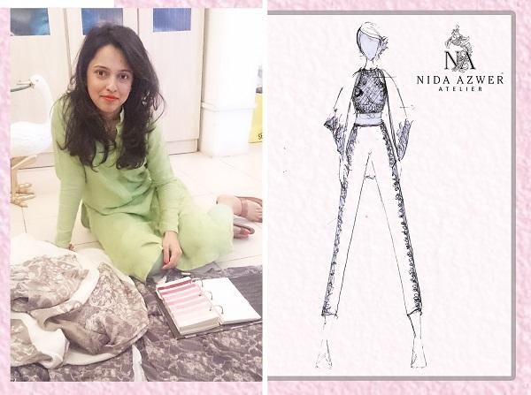 "The Nida Azwer Atelier set to open Telenor Fashion Pakistan Week with ""French Trellis Collection"""