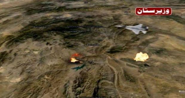 18 terrorists killed, 4 hideouts destroyed in North Waziristan