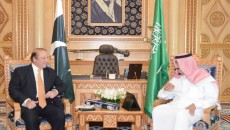 Pakistan wants peace and stability in Middle East, Nawaz tells Saudis