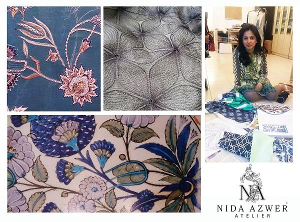"The Nida Azwer Atelier set to showcase ""The Iznik Collection"" at PFDC Sunsilk Fashion Week 2015"
