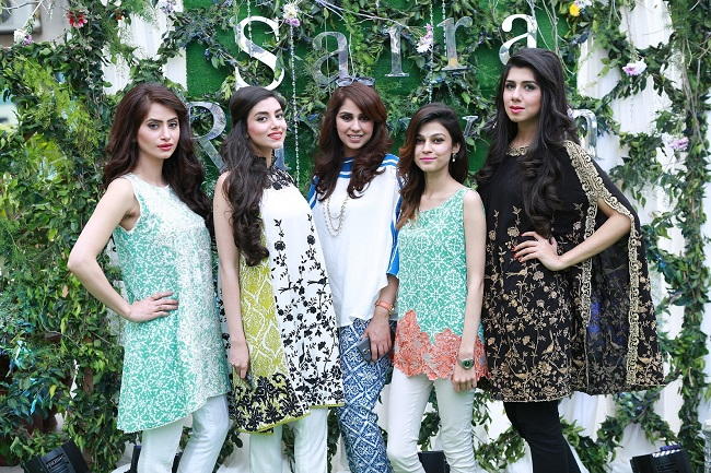 "Saira Rizwan launches her 2015 Lawn-Pret Collection ""Retro Feelings"""