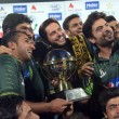 Pakistan wins T20 series against Zimbabwe, Nawaz felicitates