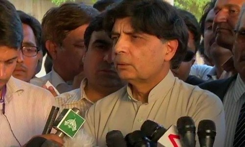Nisar says Axact fake degrees scam is still inconclusive