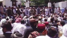 Families of Mastung carnage victims stage sit-in outside governor house