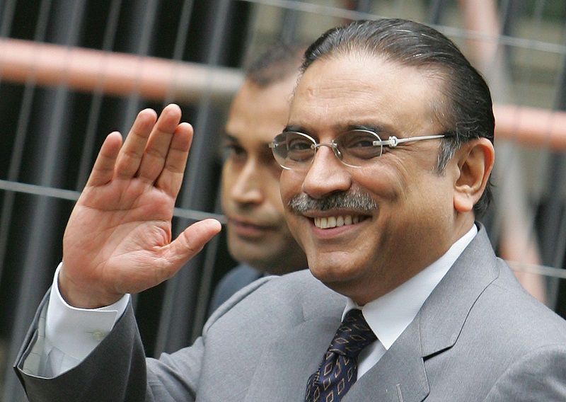 Zardari granted exemption in assets reference case