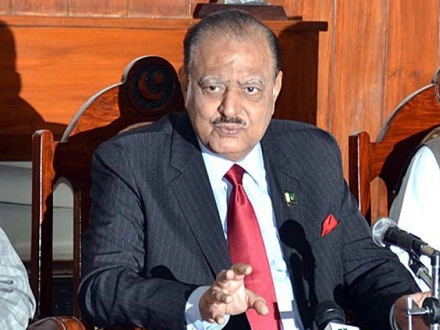 No one will dare to disturb peace in Karachi in future: President Mamnoon