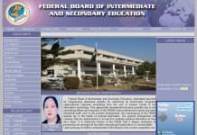 FBISE Federal Board Result 2015 Matriculation, Positions Holder of Federal Board