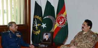 Pakistan armed forces pledge to eliminate terrorists at all cost
