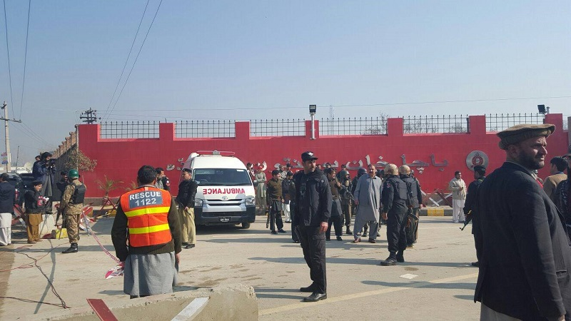 Bacha Khan University attack; Over 40 feared dead
