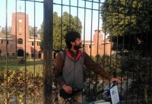 Delhi to Lahore People for Peace Cycle Rally, Praveen Singh