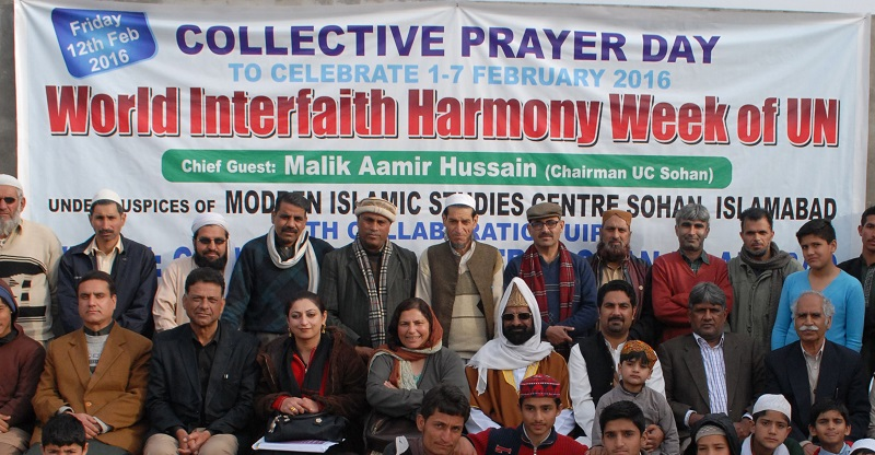 World Interfaith Harmony Week celebrations conclude