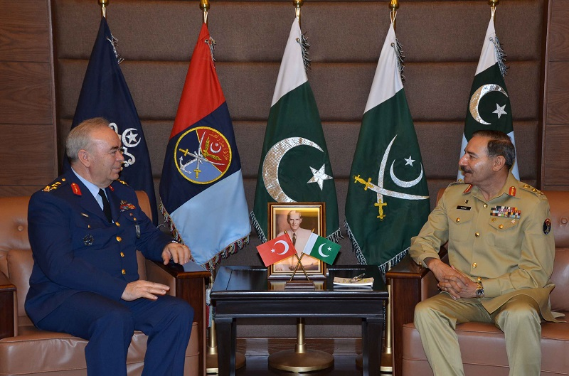 Pakistan, Turkey for enhancement of bilateral defence cooperation
