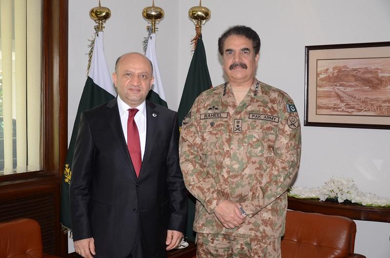 Turkey lauds Pakistan army's contributions towards regional peace