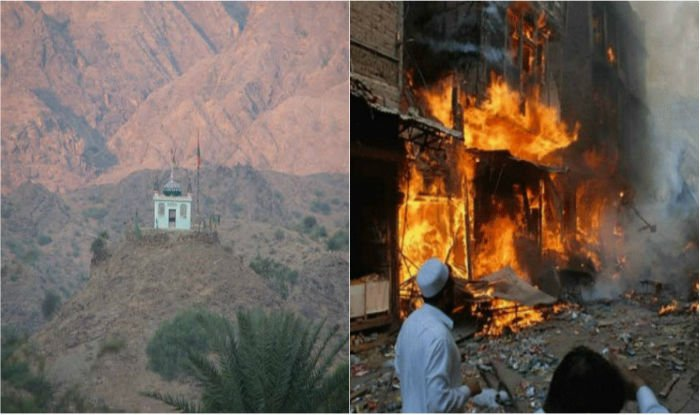 Shrine of Sufi Saint Baba Shah Noorani bombed in Khuzdar killing 47 believers